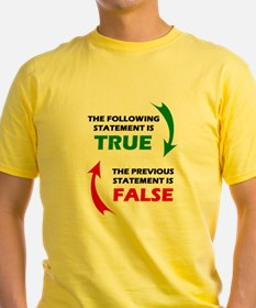 True and False T