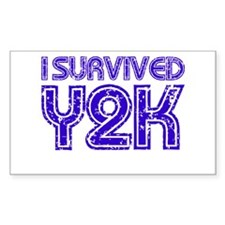 I Survived Y2K - Purple Decal