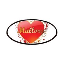 Mallory Valentines Patches