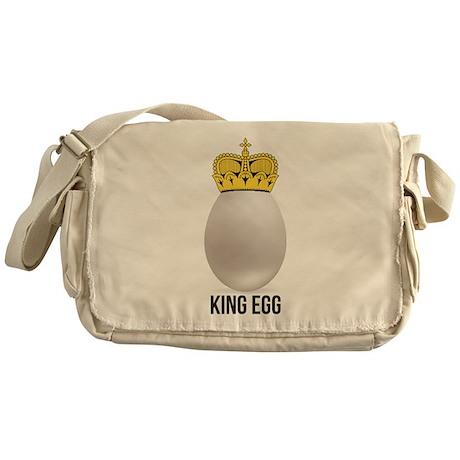 white king egg Messenger Bag