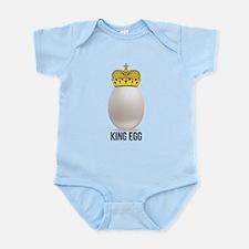 white king egg Infant Bodysuit