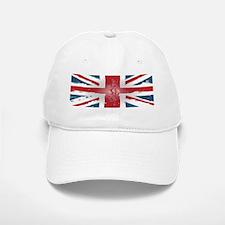 Union Jack British flag Abst Baseball Baseball Cap