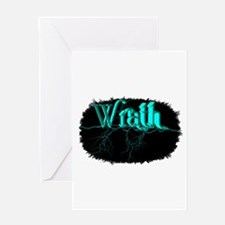 wrath Greeting Card