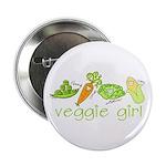 Veggie Girl Button