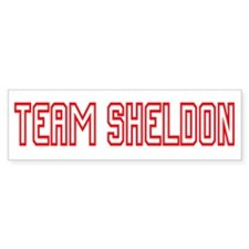 Team Sheldon1 Bumper Sticker