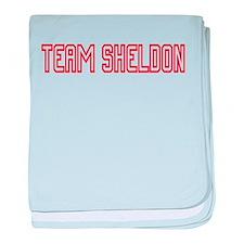 Team Sheldon1 baby blanket