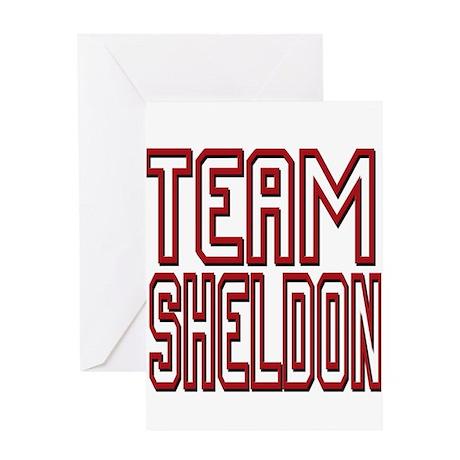 Team Sheldon 2 Greeting Card