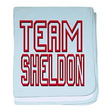 Team Sheldon 2 baby blanket