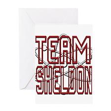 Team Sheldon 3 Greeting Card