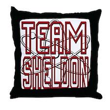 Team Sheldon 3 Throw Pillow