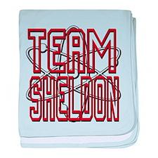 Team Sheldon 3 baby blanket