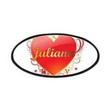 Juliana Valentines Patches
