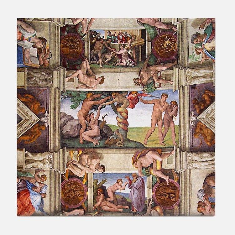 Sistine Chapel Tile Coaster