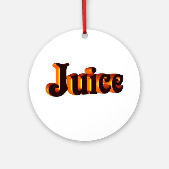 juice Ornament (Round)