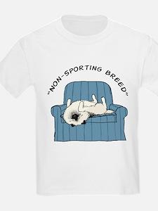 "Keeshond ""Non-Sporting Breed"" Kids T-Shirt"