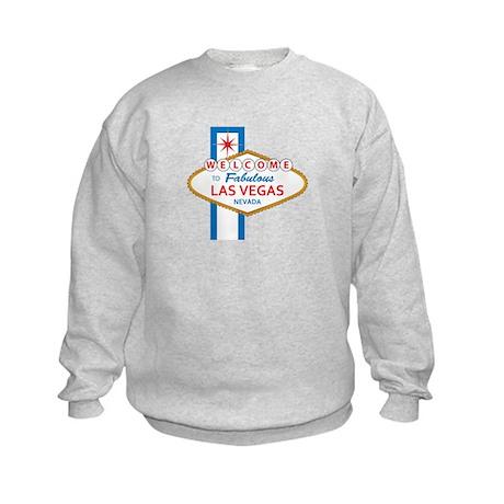 Welcome to Las Vegas Kids Sweatshirt