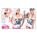 C.TA Girl Laci Kay Sticker (Rectangle)