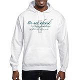 Be not afraid Hooded Sweatshirt