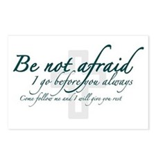 Be Not Afraid - Religious Postcards (Package of 8)