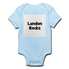 Landon Rocks Infant Creeper