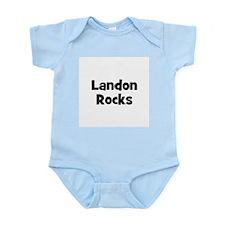 Landon Rocks Infant Creeper