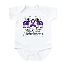 Walk For Alzheimer's Infant Bodysuit