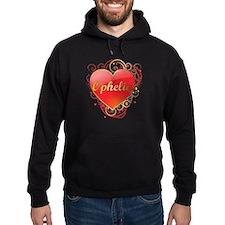 Ophelia Valentines Hoody