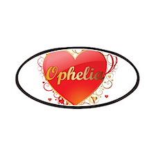 Ophelia Valentines Patches
