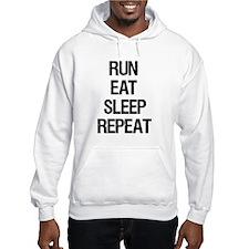 Run Eat Sleep Repeat Jumper Hoody