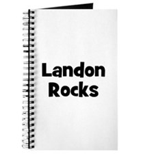 Landon Rocks Journal