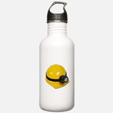 Hard Hat with Lamp Water Bottle