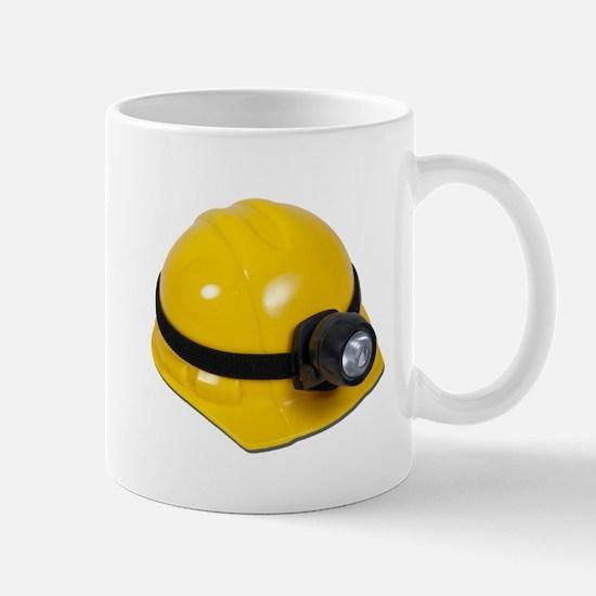 Hard Hat with Lamp Mug