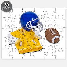 Letterman Jacket Football Hel Puzzle