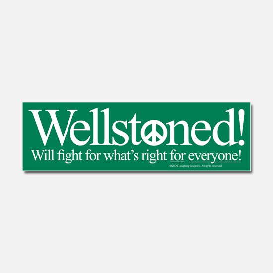 Wellstone Car Magnet 10 x 3