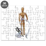 Measuring Tape Around Waist Puzzle