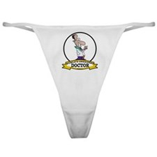WORLDS GREATEST DOCTOR CARTOON Classic Thong