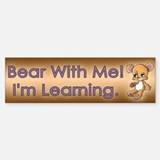 Teddy M. Bear Bumper Bumper Sticker