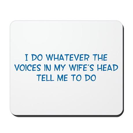 Funny Husband Valentine Mousepad