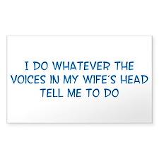 Funny Husband Valentine Decal