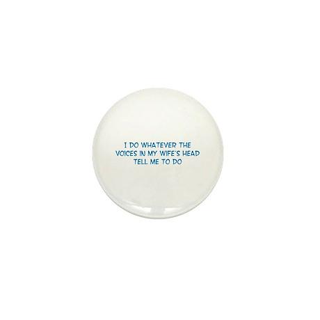 Funny Husband Valentine Mini Button