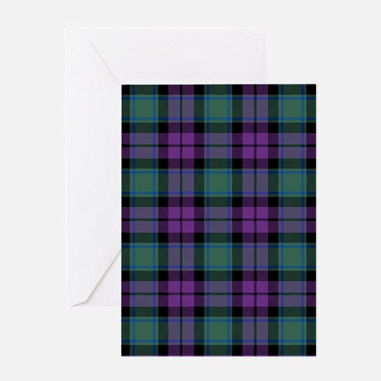 Tartan - MacArthur of Milton Greeting Card
