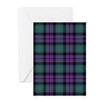 Tartan - MacArthur of Milton Greeting Cards (Pk of