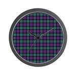 Tartan - MacArthur of Milton Wall Clock