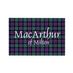 Tartan - MacArthur of Milton Rectangle Magnet (100
