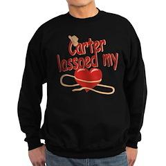 Carter Lassoed My Heart Sweatshirt