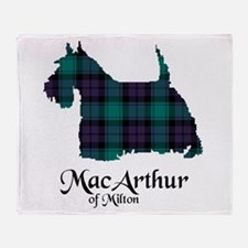 Terrier - MacArthur of Milton Throw Blanket