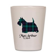 Terrier - MacArthur of Milton Shot Glass