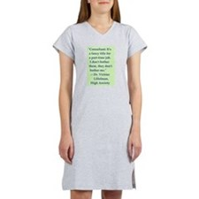 High Anxiety Consultant - Women's Nightshirt