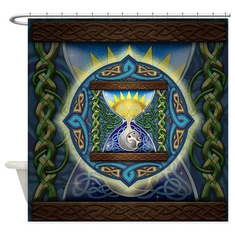 Celtic Hourglass Shower Curtain