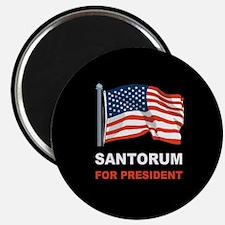 Santorum for president Magnet